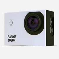 3d model action camera
