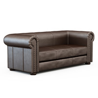 3d sofa bogart model