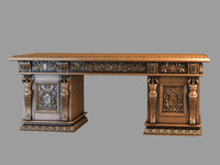 photorealistic table 3d max