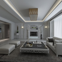 modern furniture 3d max