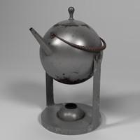 Vintage Swedish teapot