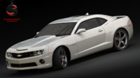 3d chevrolet camaro ss 2010 model