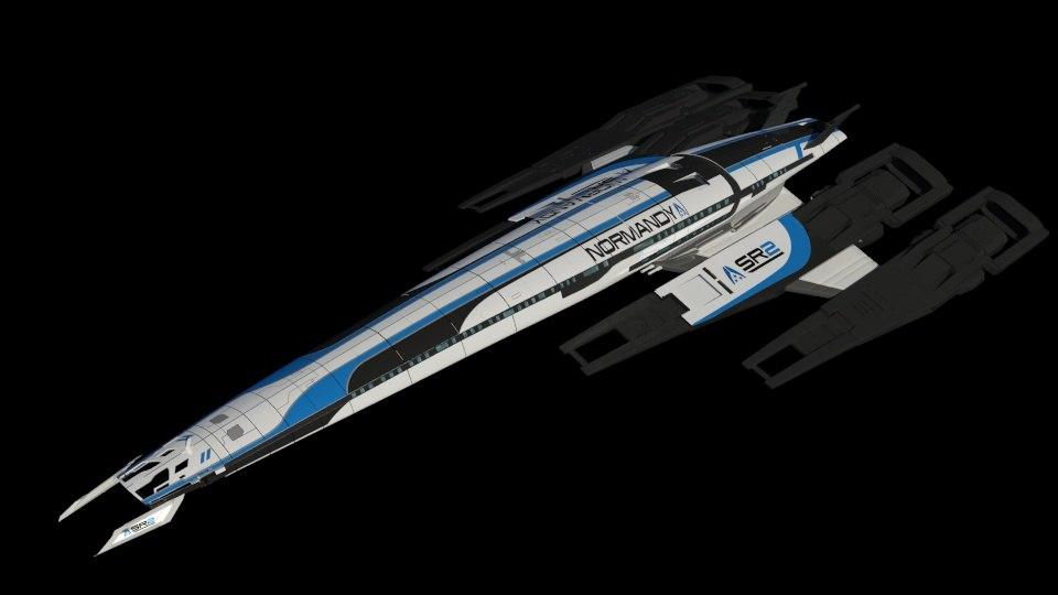 3d Ssv Normandy Model
