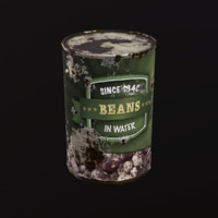 canned food 3d x