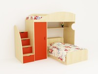 Children twin Bed