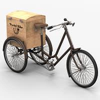 Old postal bike