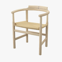 3d pp 62 chair hans j model