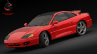 3ds max dodge stealth r t