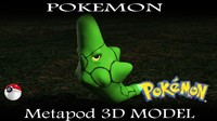 free max mode metapod pokemon