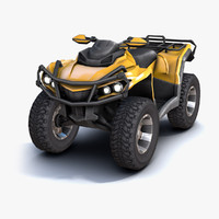 atv vehicle 3d model