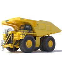 3ds max mining rigid dumptruck
