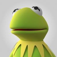 3d kermit frog