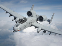 3d model a-10 thunderbolt fairchild