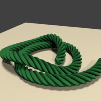 3d model seamless rope
