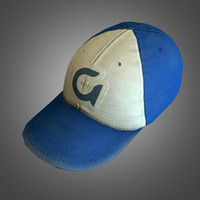 baseball hat - ready 3d obj