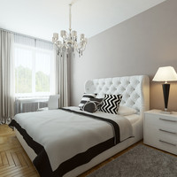 bedroom interior bed max