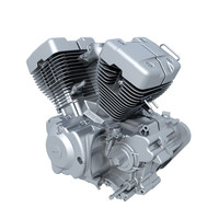 3ds max v-twin engine