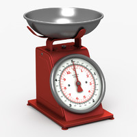 obj kitchen scale