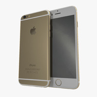 iphone 6 gold c4d