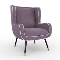 3d dolly baxter armchair