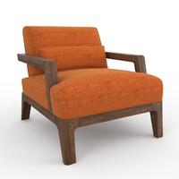 max ottoman poltrona armchair