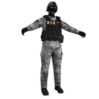 3d model swat 2
