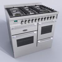 cooker britannia 3d obj