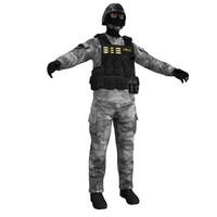 swat 2 3d obj