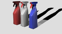 spray bottle 3ds