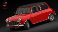 3d dwg austin mini cooper 1964