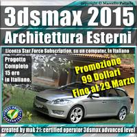 2015 architettura esterni subscription 3d 3ds