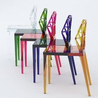 alchemia chair calligaris 3d model