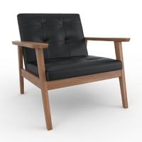 acorn bark armchair 3d max