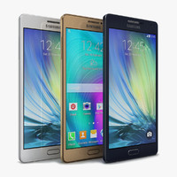 samsung galaxy a7 color 3d 3ds