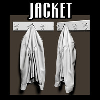 Jacket on coat rack 02