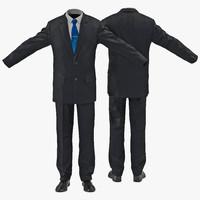 3d men suit