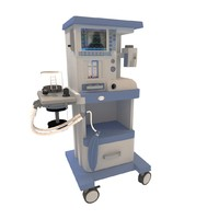 3d model of medical oxygen concentrator