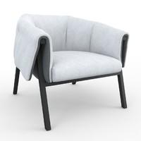 okumi ligne roset armchair 3d max