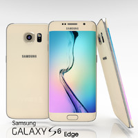 samsung galaxy s6 edge 3d obj
