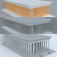 3d max temple apollon