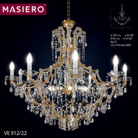 3d model chandelier masiero ve 912