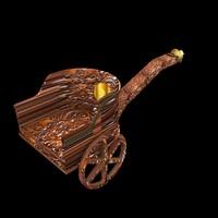 3d max roman chariot