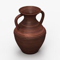 ceramic vase 3d obj