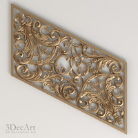 3d carved panel