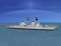 obj destroyers class spruance