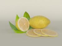 Realistic Lemon
