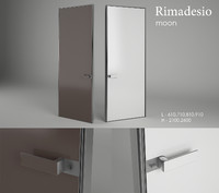 3d model moon rimadesio door