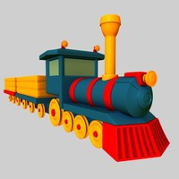 toy train 3d ma
