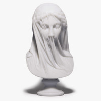giovanni veiled virgin 3d obj