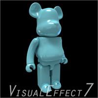cartoon light 3d obj
